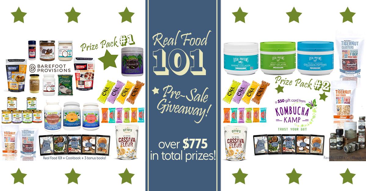Real Food 101 Pre-sale giveaway